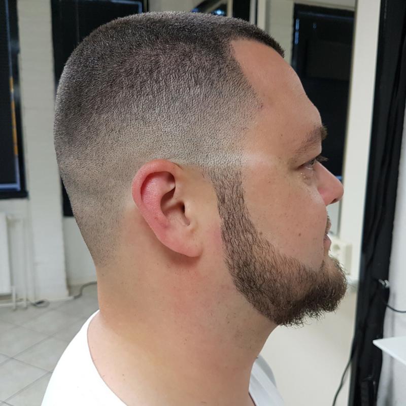 Fade-in + Beard Contour