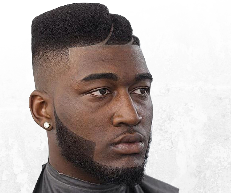 Black And White Barbershop Expert In Fade In Haircuts