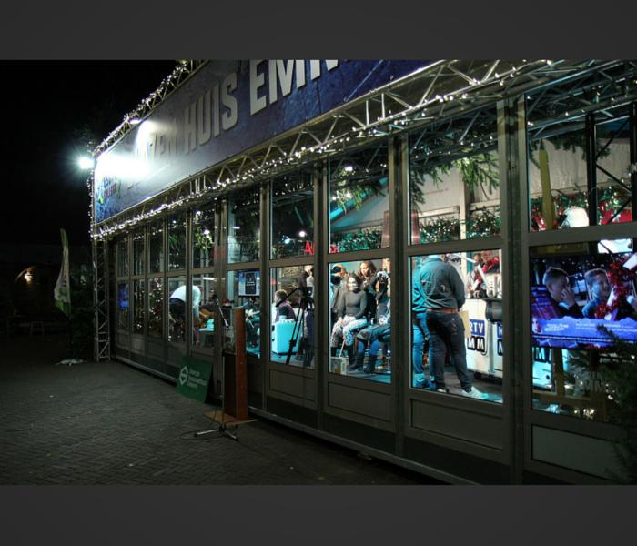 Glazen Huis Emmen - Black and White Barbershop