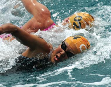 Haar Verzorgen vóór en na het Zwemmen