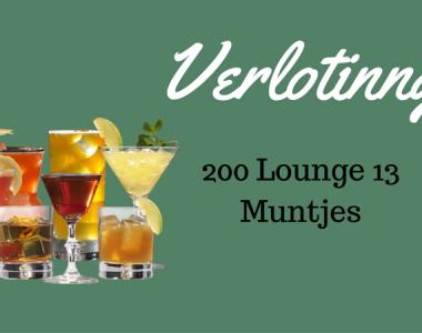 GRATIS Lounge13 MUNTJES?